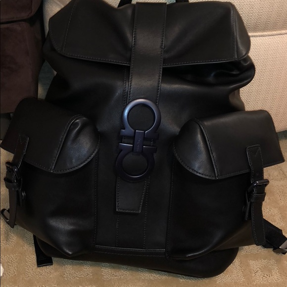 1291239219 Ferragamo Backpack. NWT. Salvatore Ferragamo